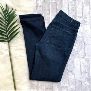 7FAM▪️Dark Wash Slimmy Slim Fit Jeans. 32x33 JJ2